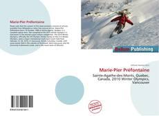 Marie-Pier Préfontaine kitap kapağı