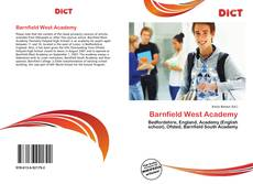 Bookcover of Barnfield West Academy