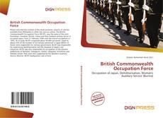 Capa do livro de British Commonwealth Occupation Force
