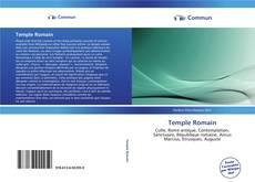 Portada del libro de Temple Romain