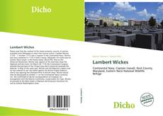 Bookcover of Lambert Wickes