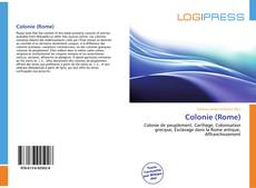 Bookcover of Colonie (Rome)