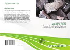 Leonard Helm kitap kapağı