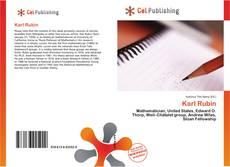 Buchcover von Karl Rubin