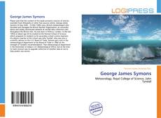 Bookcover of George James Symons