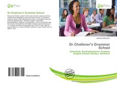 Buchcover von Dr Challoner's Grammar School