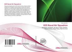 Portada del libro de 835 Naval Air Squadron