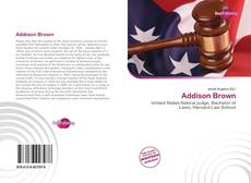 Bookcover of Addison Brown