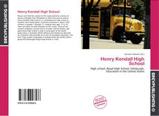 Bookcover of Henry Kendall High School