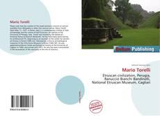 Portada del libro de Mario Torelli