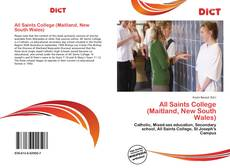Bookcover of All Saints College (Maitland, New South Wales)