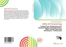 Couverture de 2004–05 Turkish Cup
