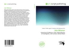 Bookcover of Jon Wiener