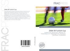 Capa do livro de 2008–09 Turkish Cup