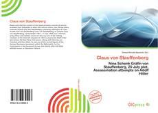 Buchcover von Claus von Stauffenberg