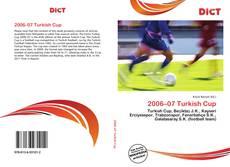 Capa do livro de 2006–07 Turkish Cup