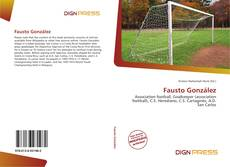 Bookcover of Fausto González