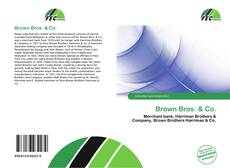 Bookcover of Brown Bros. & Co.