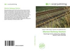 Bookcover of Marion Railway Station