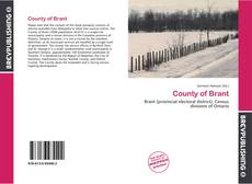 Capa do livro de County of Brant