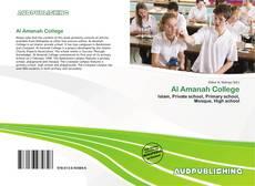 Bookcover of Al Amanah College