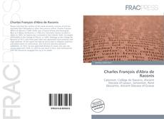 Capa do livro de Charles François d'Abra de Raconis
