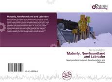 Buchcover von Maberly, Newfoundland and Labrador