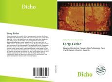 Bookcover of Larry Cedar