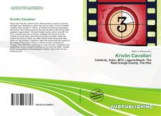 Bookcover of Kristin Cavallari