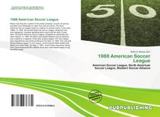 Обложка 1988 American Soccer League