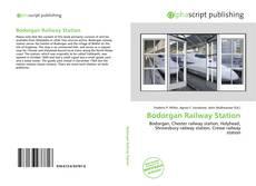 Bookcover of Bodorgan Railway Station