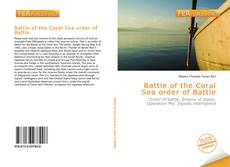 Bookcover of Battle of the Coral Sea order of Battle