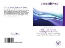 Buchcover von 1965–66 Mersin İdmanyurdu Season