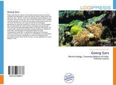 Georg Sars kitap kapağı
