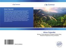 Aimo Cajander的封面