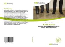 Bookcover of Karl Kautsky
