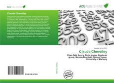 Bookcover of Claude Chevalley