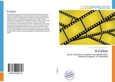 Bookcover of K Callan
