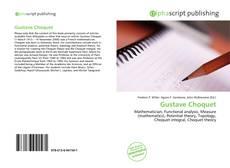 Gustave Choquet kitap kapağı