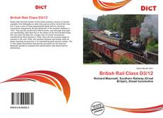 Couverture de British Rail Class D3/12