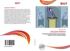 Bookcover of Jacques Delors