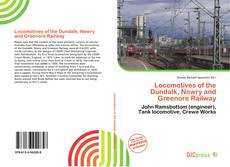 Locomotives of the Dundalk, Newry and Greenore Railway kitap kapağı