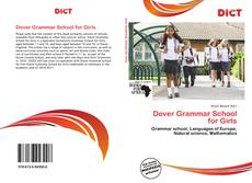 Buchcover von Dover Grammar School for Girls
