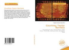 Portada del libro de Courtney Taylor Burness