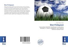 Bookcover of Don Finlayson