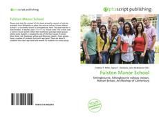 Buchcover von Fulston Manor School