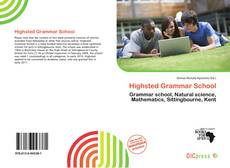 Highsted Grammar School的封面