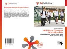 Buchcover von Maidstone Grammar School for Girls