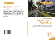 Bookcover of Bagnall Fireless Locomotives (Preserved)