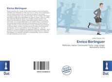 Portada del libro de Enrico Berlinguer